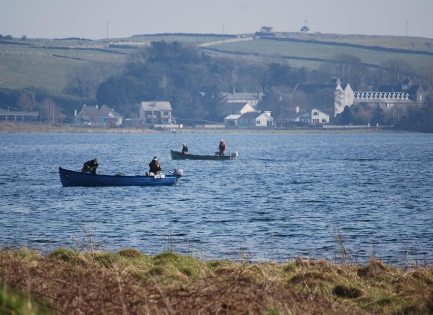 Fishing St Pats Day